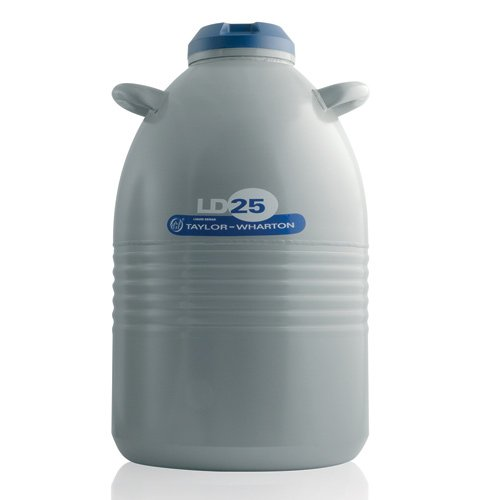 Taylor Wharton LD25 Aluminum Liquid Dewar, 6.6 gal by Taylor Wharton