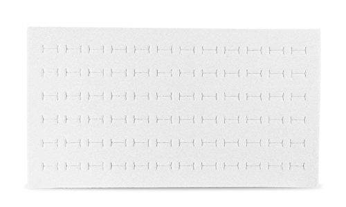 Foam Ring Pad Standard Size White Tray Inserts Jewelry Display