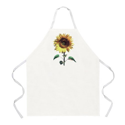 Sunflower Apron - Attitude Apron Sunflower Apron, Natural, One Size Fits Most