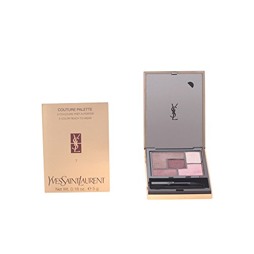 (Yves Saint Laurent Couture Eyeshadow Palette for Women, No. 07 Parisienne, 0.16 Pound)