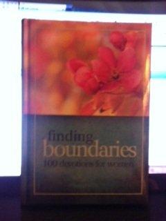 Finding Boundaries (100 Devotions for women, 1) PDF