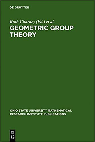 Book Geometric Group Theory: Proceedings of a Special Research Quarter at the Ohio State University, Spring 1992 (Ohio State University Mathematical Research Institute Publications)