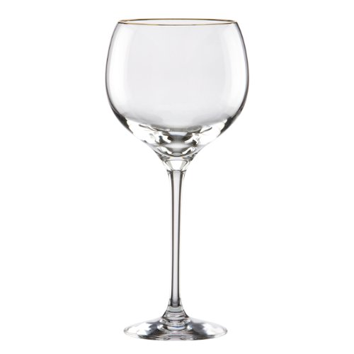 Lenox Eternal Gold Signature Crystal All Purpose Beverage Glass (Gold Crystal Stemware)