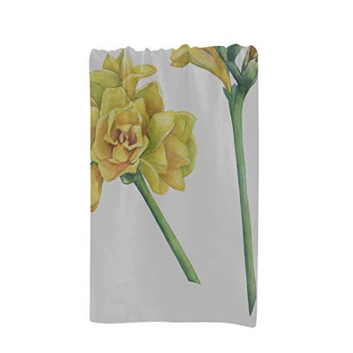 (XDCGG Baby Girls Beach Towel Closeup Fresh Branches Yellow Freesia Serrada Custom Microfiber Large Printing 32 X 64 Inches Single Beach Towel )