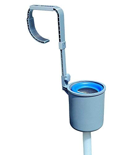 - XT Deluxe Wall Mount Swimming Pool Surface Debris Skimmer Basket fits Bestway Coleman Gxfc