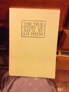 The True Story of AH Q (4th edition 1964 fascimile reprint 1969)