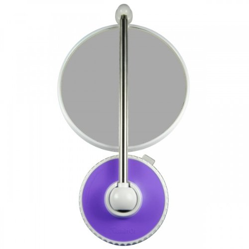 Telescoping Twistmirror 6x To 1x Suction Cup Magnifying