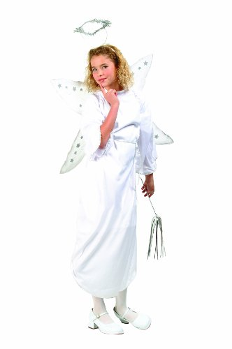 RG Costumes Angel with Halo, Child Large/Size 12-14 (Halo Costume Child)