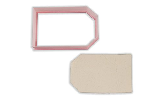 Label Tag Cookie Cutter - STANDARD - 3 Inches