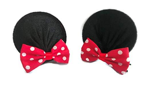 Disney Mickey Mouse Ears Baby Elastic Headband Costume Accessory :M3 (MC Clip) ()