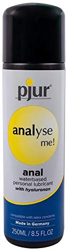 Pjur Analyse Me Water Based Condom Safe Comfort Anal Glide Personal Lubricant 8.5 Fluid ounce / 250 -