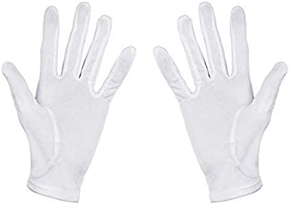 Pack de 6 pares de guantes hidratantes 100% de algodón blanco, para hidratar las manos Talla S: Amazon.es: Belleza