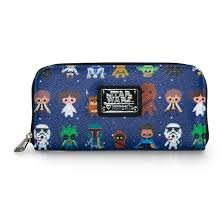 Loungefly Star Wars Baby All Over Print Zip Around Wallet]()