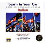 Learn in Your Car Italian Three-Level Set with Book(s)