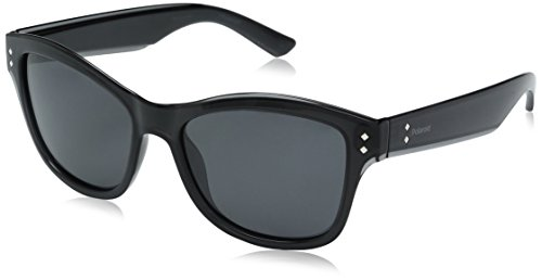 Polaroid Sunglasses Women's Pld4034s Wayfarer, Gray/Gray Polarized, 54 - 4034 Sunglasses