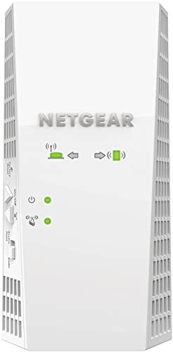 NETGEAR WiFi Mesh Range Extender EX7300 - Coverage as much as 2000 squareft. and 35 units with AC2200 Dual Band Wireless Signal Booster & Repeater (as much as 2200Mbps pace), plus Mesh Smart Roaming