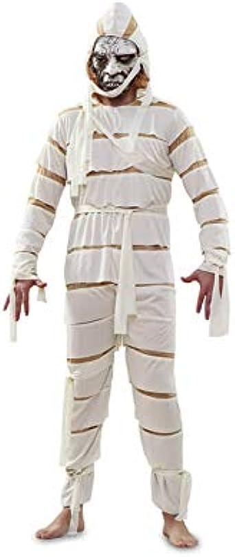 Disfrazzes - Disfraz de momia para halloween de hombre talla m-l ...