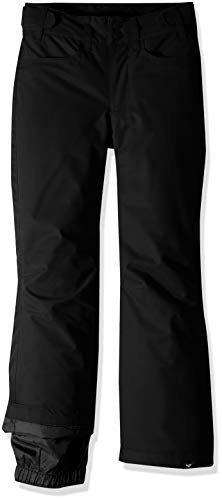 Roxy Little Backyard Girl Snow Pant, True Black, 10/M
