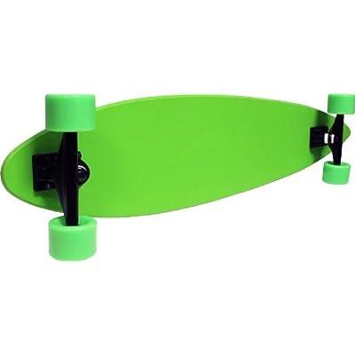 TGM Skateboards Longboard Pintail Cruiser Complete - Canadian Maple 9x43 Green : Longboard Skateboards : Sports & Outdoors