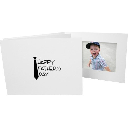 Fathers Day 4x6 Cardboard Event Photo Folders Horizontal (50 Folders) by Studio Style By Collectors Gallery