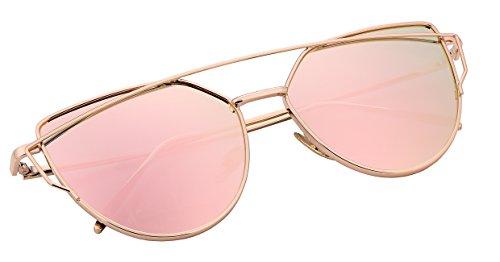 FEISEDY-Cat-Eye-Mirrored-Flat-Lenses-Metal-Frame-Women-Sunglasses-UV400-B2206