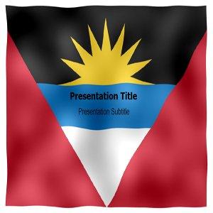 amazon com antigua and barbuda animated flag powerpoint templates