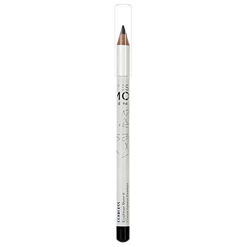 Cest Moi Fearless Eyeliner Pencil | Velvety Smooth Eyeliner Formula made with Jojoba Seed Oil, Shea Butter, Marula Oil and Carnauba Wax, Smooth, Easy-to-Use, Long Lasting, Black, 0.04 fl oz.