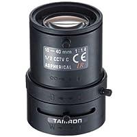 Tamron 12VM1040ASIR 1/2 10-40mm F1.4 Manual Iris Vari-Focal C-Mount Lens, IR Corrected