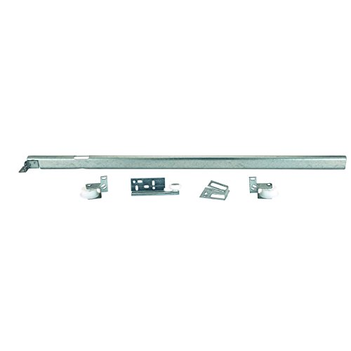 Knape and Vogt Tri-Roller Center Mount 3/4-Extension Drawer Slide, 22-5/8