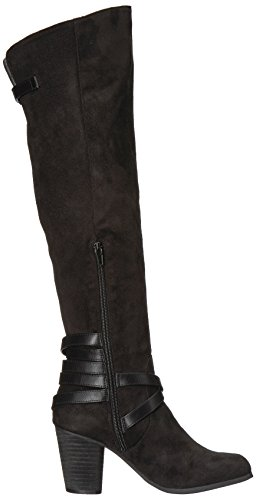 Madden Girl Womens Dutchyy Fashion Boot Black Fabric nCsAsVlYm