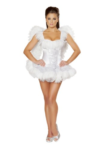 Roma-Costume-2-Piece-Swan-Seductress-Costume
