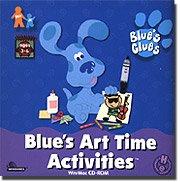 Blue's Clues Art Time Activities