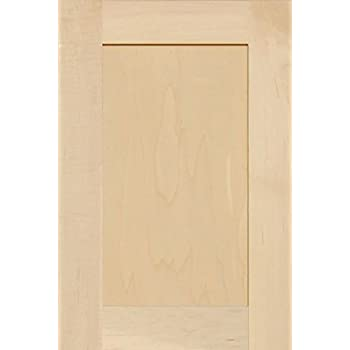 Unfinished Maple Shaker Cabinet Door by Kendor 18H x 12W  sc 1 st  Amazon.com & Unfinished Shaker Cabinet Doors in MDF by Kendor 31H x 13W ...