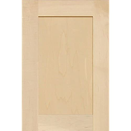 Unfinished Maple Shaker Cabinet Door by Kendor 18H x 12W  sc 1 st  Amazon.com & Replacement Kitchen Cabinet Doors: Amazon.com