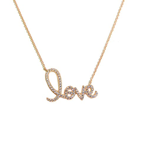 Rose Gold Endless Love Necklace