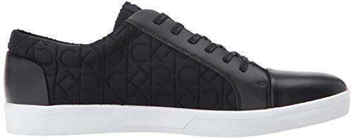 Calvin Klein Men's Ibrahim Brshd Lthr Fashion Sneaker Black excellent online cheap sale low cost pay with visa online under $60 for sale pUU2xXORRn