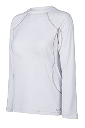 GameGuard Ladies' Performance Tee Small White