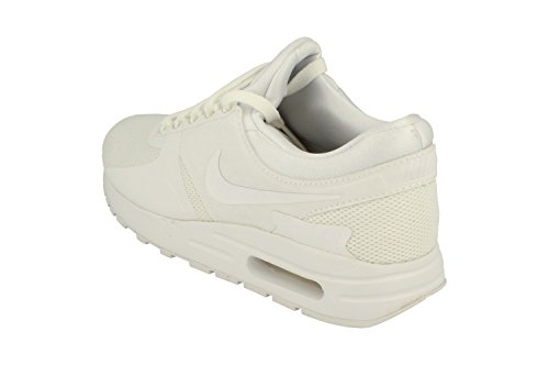 Nike Air Max Zero Essential GS Running Trainers 881224 Sneakers Shoes (UK 3 US 3.5Y EU 35.5, White Wolf Grey 100) by Nike (Image #1)
