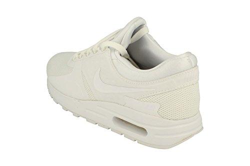 Nike Air Max Zero Essential GS, Zapatillas de Trail Running Para Niños, Blanco (White/White/Wolf Grey/Pure Platinum 100), 35.5 EU