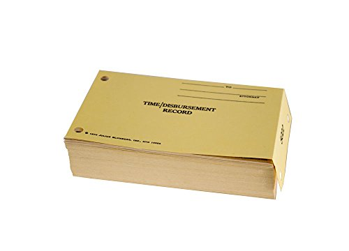 Blumberg's Basic Bill by Time Control System for Attorneys & Professionals, 100 2 or 3 Part Carbonless Paper Sets per Package (2-Part)