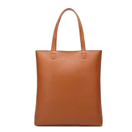donna qualità Mzdpp Shopping bags da tracolla Borsa a Alta Fashion Brown Morbida in pelle borsa ttRUwqTg