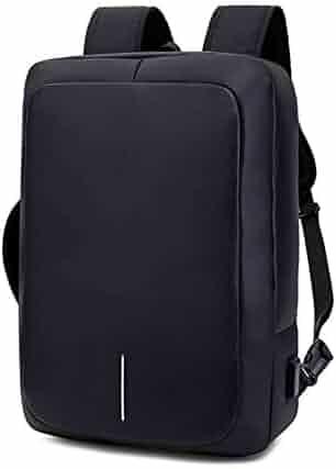5ca6cbbde22d FANQIECHAODAN Travel Laptop Backpack,Waterproof Anti-Theft Oxford Cloth  Rucksack Business School Bags,