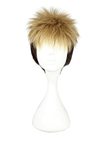 Mtxc Attack on Titan Cosplay Jean Kirstein Wig Golden Mixed Brown