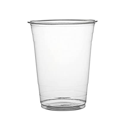 Image of Cups Fineline Super Sips 311698 PET Drinking Cup, 16 oz, Clear