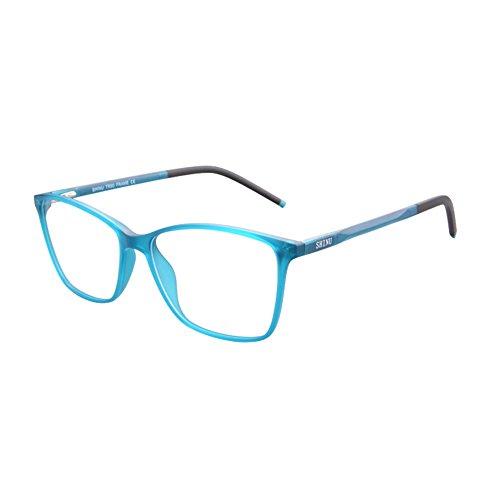 KUDEE Progressive Multifocus Reading Glasses Women's Anti Blue Light Computer Readers-MAT087(C4,0/200) (Reading Glasses 200+)