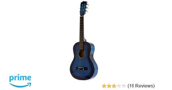 7e7504946d8bd Amazon.com  Star Kids Acoustic Toy Guitar 31 Inches Color Blue ...