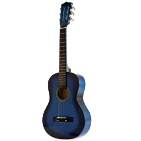 Star Kids Acoustic Toy Guitar 31 Inches Color Natural 15