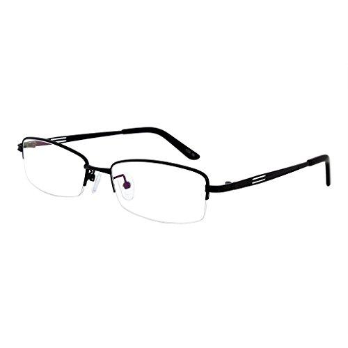 Southern Seas Mens Womens +3.00 Black 1.56 High Index Lenses Reading - Stylish Glasses 2015 Womens