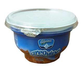 Arequipe Dulce De Leche~caramel Spread Alpina paquete de dos