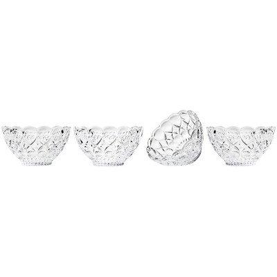 Crystal Dessert - Ariel Crystal Bowl (Set of 4)